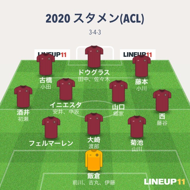 vissel acl 3-4-3